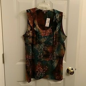 Lovely blouse multi-colored, Lrg